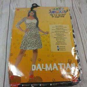 Smiffy's Women's Dalmatian Costume, Dress, Headpie
